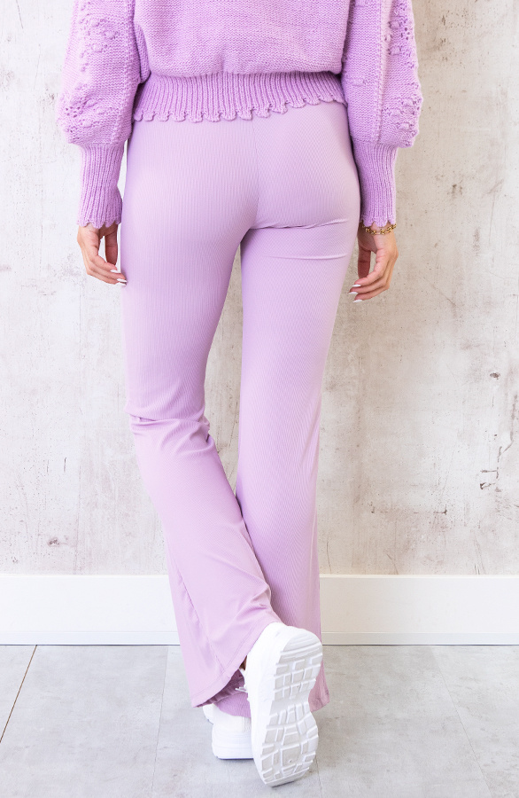 Flared-Broek-Extremely-Stretch-Lila-5