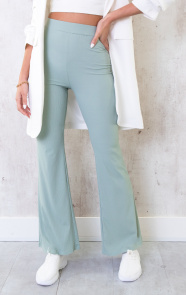 Flared-Broek-Extremely-Stretch-Mint-3