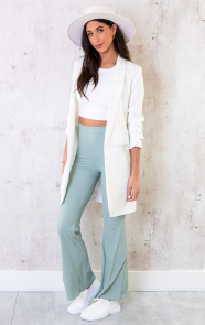 Flared-Broek-Extremely-Stretch-Mint-4