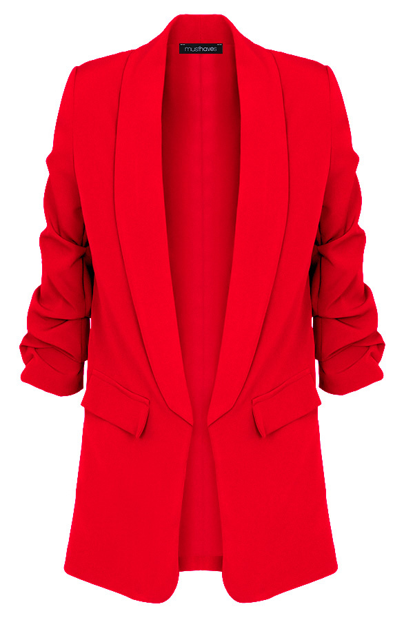 Limited-Blazer-Rood