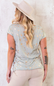 Metallic-Birds-Top-Mint-8