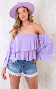 Off-Shoulder-Ruffle-Top-Lila-4