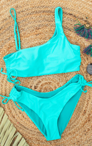 One-Shoulder-Bikini-Turquoise