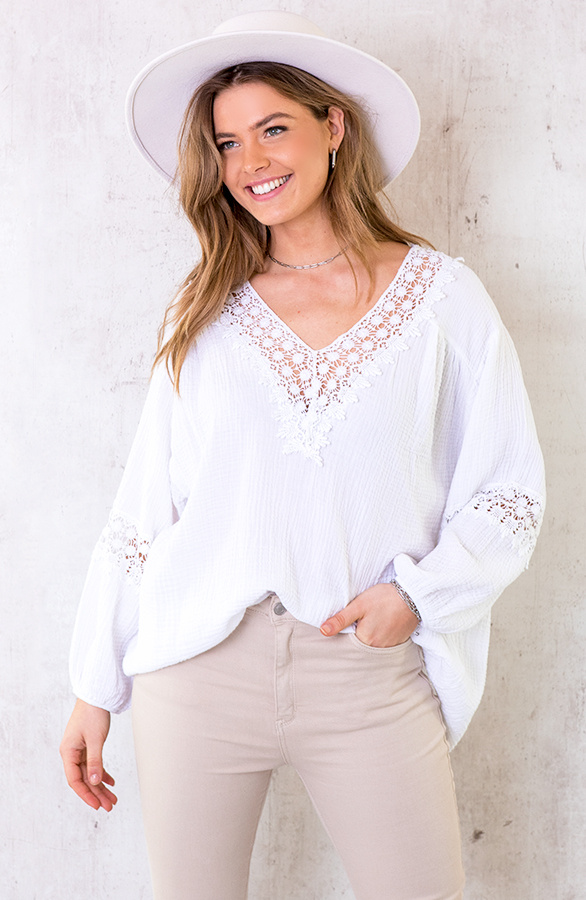 Oversized-Katoenen-Blouse-Wit-5