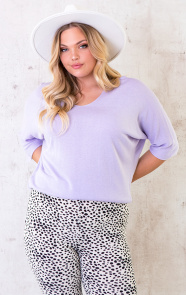 Oversized-Top-Dames-Lila-1