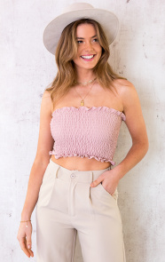 Smocked-Bandeau-Dust-Roze-3