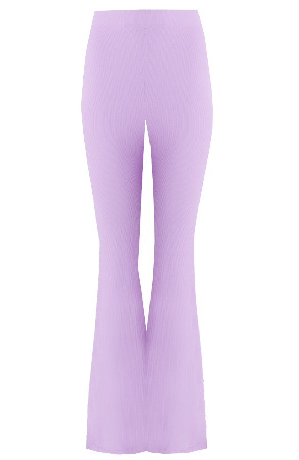 Flared-Broek-Extremely-Stretch-Lila