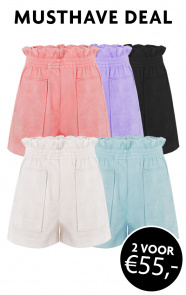 Musthave-Deal-Suedine-Shorts