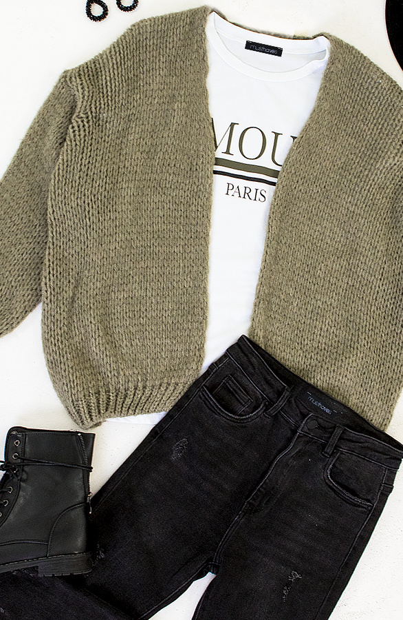 Oversized-Knitted-Vest-Army-2