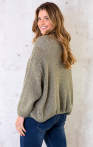 Oversized-Knitted-Vest-Army-3