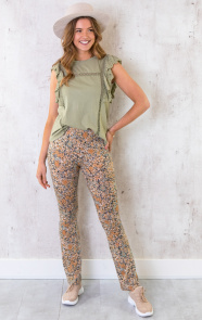 Ruches-Top-Embroidery-Olive-1