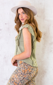 Ruches-Top-Embroidery-Olive-4