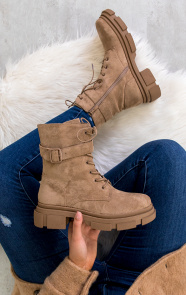 Biker-Boots-Suede-Taupe