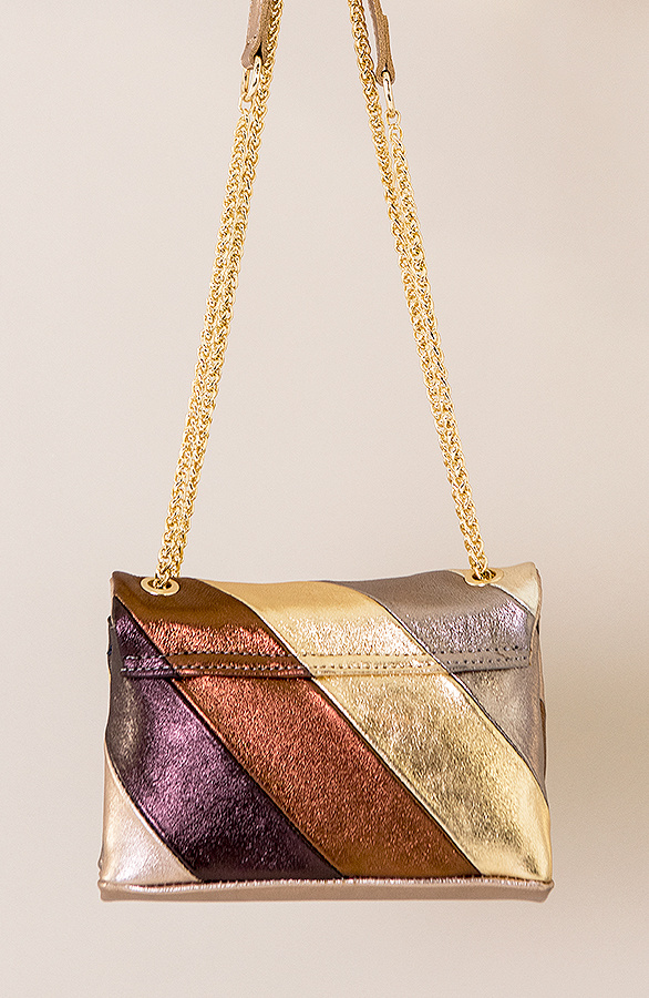 Leather-Rainbow-Chain-Bag-Small-Beige-2