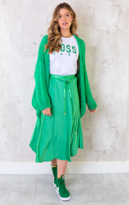 Oversized-Knitted-Vest-Bright-Green-3