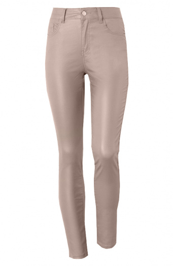 Coating Jeans Taupe