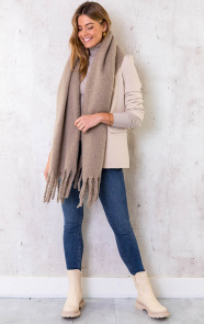 Essential-Sjaal-Taupe-1